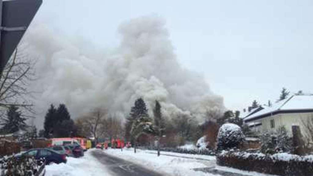 Aktuell!!! Klosterschänke steht in Flammen | Hersfeld-Rotenburg