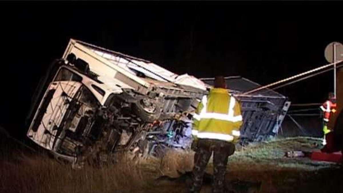 Lkw Unfall A5 Heute Bilder