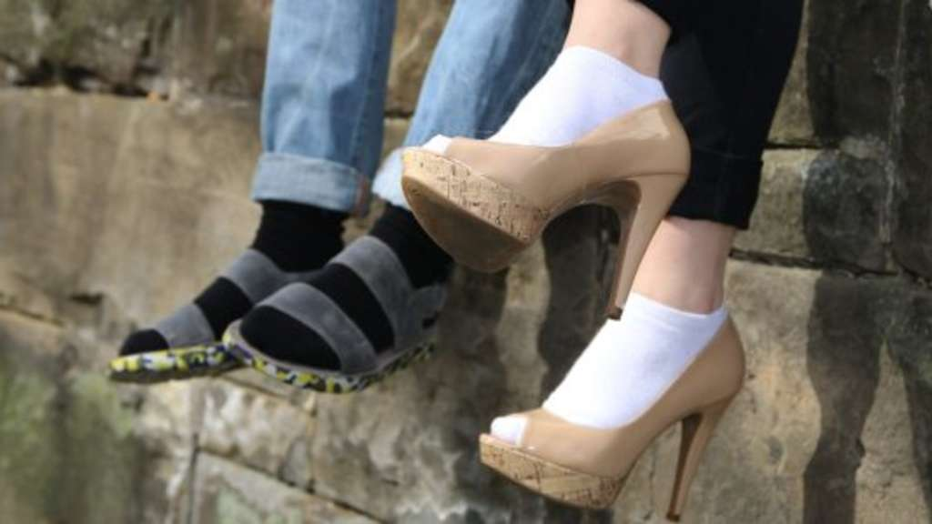 Socken Sandalen In Und Oder High SchrottMagazin HeelsFlott qUzpMGSV