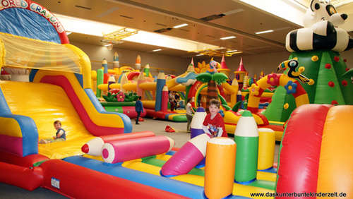 Fotostrecke: 6 Tage Kinderzelt-Indoor-Party in Steinau