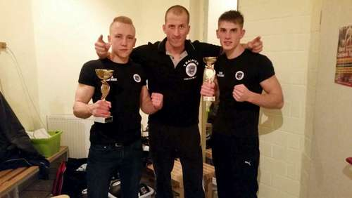 Thaipanther bei Fight Night in Hameln