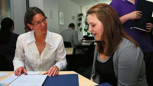 Job-Speed-Dating in der Arbeitsagentur