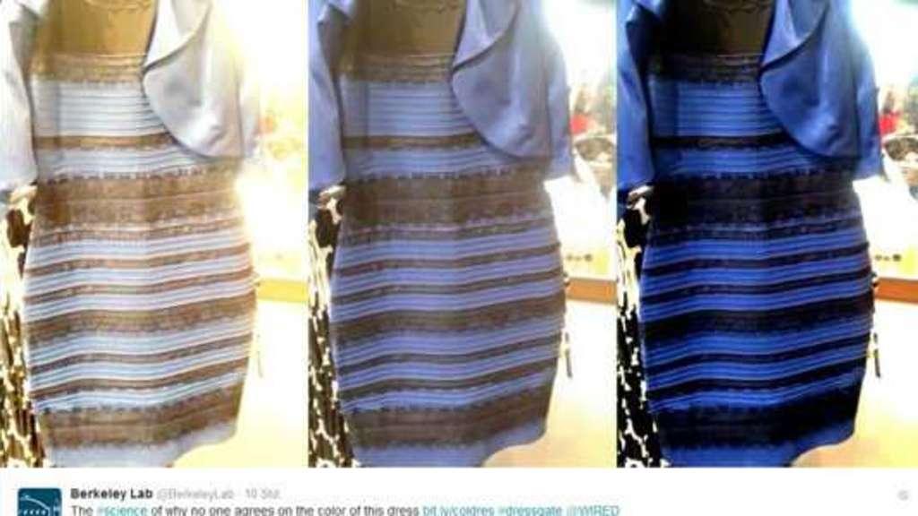 Diskussion uber blau schwarzes kleid
