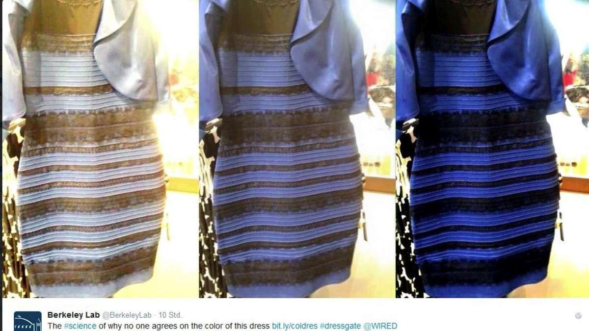 Blau schwarzes kleid bedeutung
