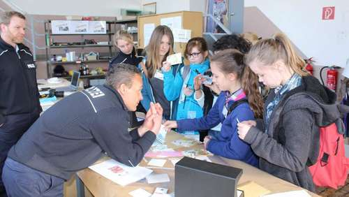 Spannender Girls Day bei der Bundespolizei