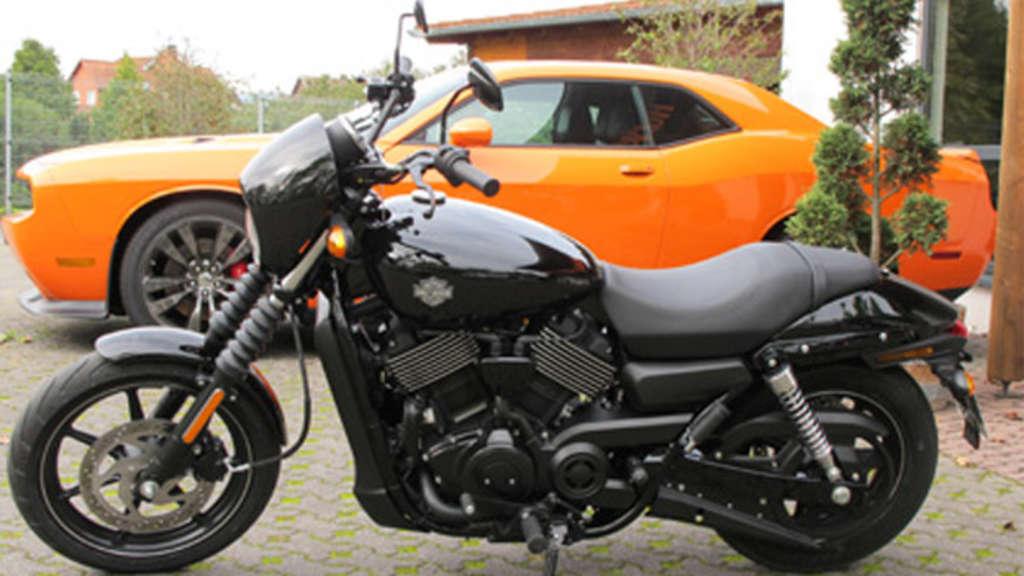 Prinzessin der Straße (Test:Harley-Davidson Street 750)   Bike