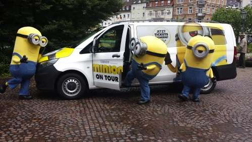 Die Minions on Tour - auch in Fulda