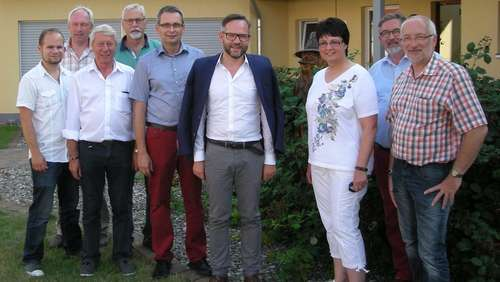Staatsminister Roth auf Stippvisite in Wanfried