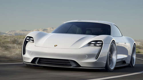 Elektro-Power-Schönheit! Porsche Mission E