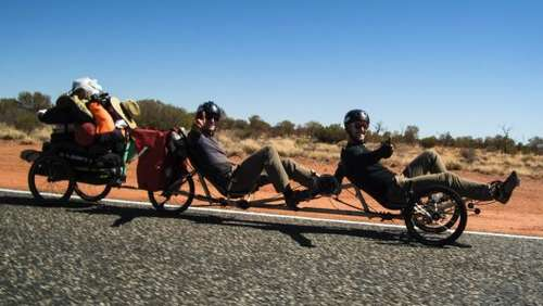 Update: Outback-Crosskiter bereits in Alice Springs angekommen