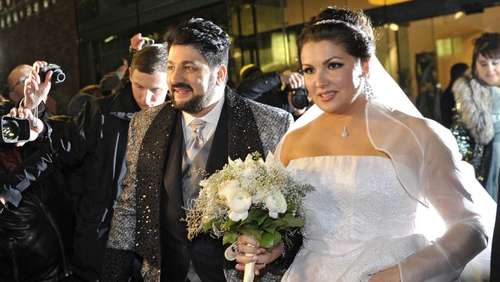 Anna Netrebko hat in Wien geheiratet