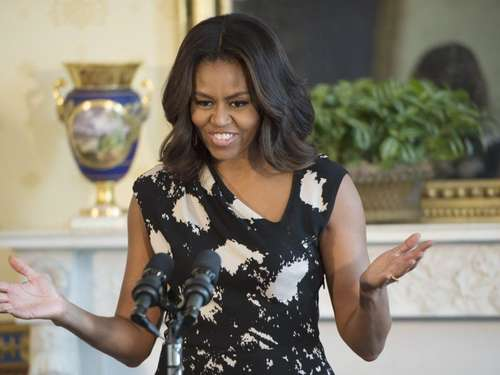 Michelle Obama initiiert Charity-Song