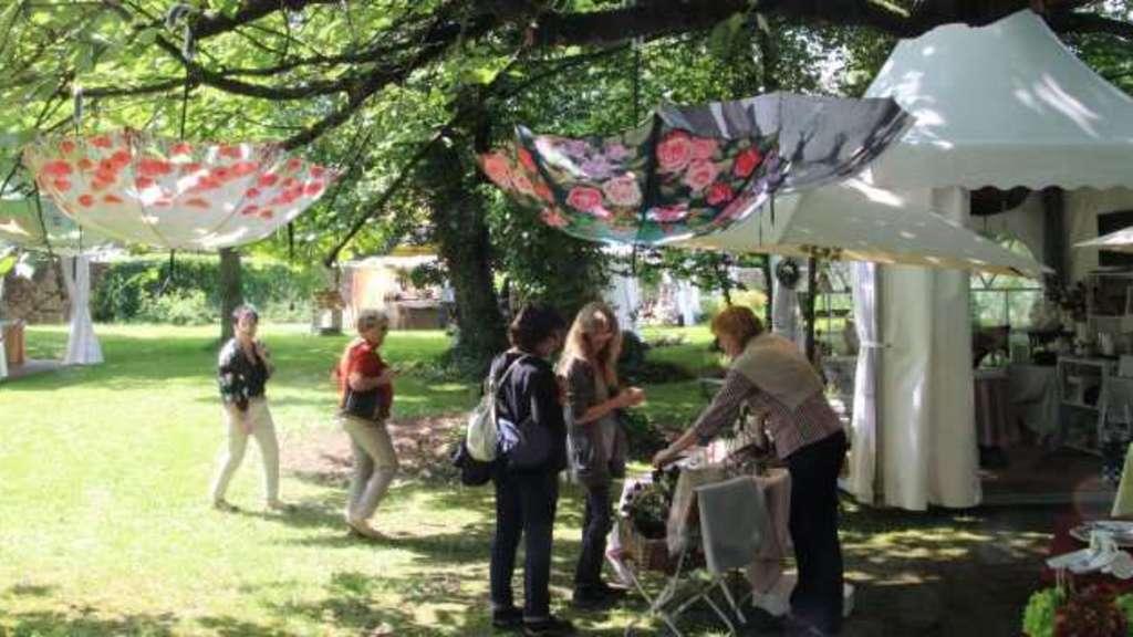 """Premiere gelungen: Garten-Event """"Jardin romantique"""" in Melsungen ..."""