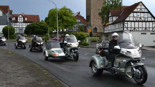 Goldwing Trike Treffen in Bebra