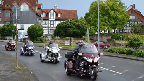Fotostrecke: Goldwing Trike Treffen in Bebra