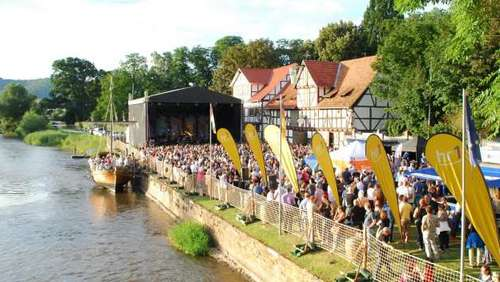 Open Air Konzerte am Hafen in Wanfried in 2017
