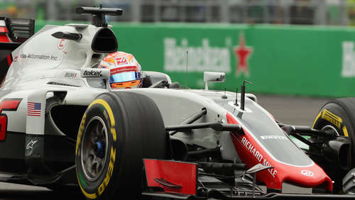 Grosjean crasht vor Rennstart - Start hinter Safety-Car