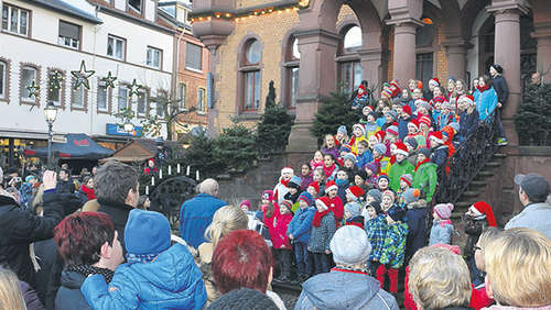 Winter in Hünfeld: Dreitägiger Adventsmarkt in der Innenstadt