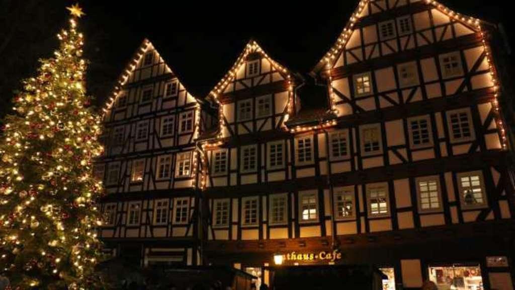 Weihnachtsmarkt Melsungen.Melsungen Lädt Zum Weihnachtsmarkt Im Winterwald Heimat Nachrichten