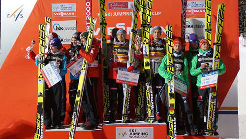FIS Weltcup-Skispringen in Willingen 2017: Das Teamspringen