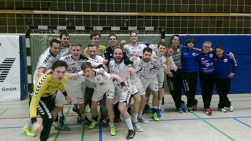 Handball Blaue Karte.Handball Verbandslige Tg Münden Sieg Tabellenführung Wiegräfe