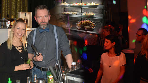Coole Leute, kühle Drinks: Aperitivo Afterwork-Party begeisterte