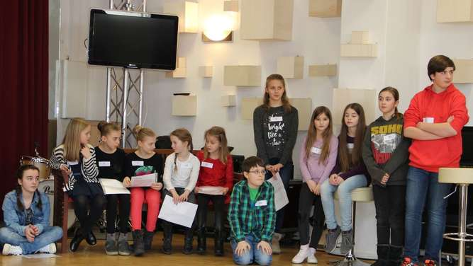 "125 Kinder beim Casting zur ""Young Actors Academy"""