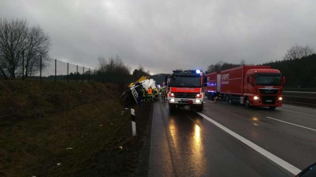 Unfall Kirchheimer Dreieck