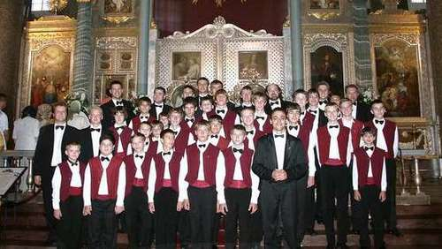 Kiewer Knabenchor konzertiert am 8. April in der Homberger Stadtkirche