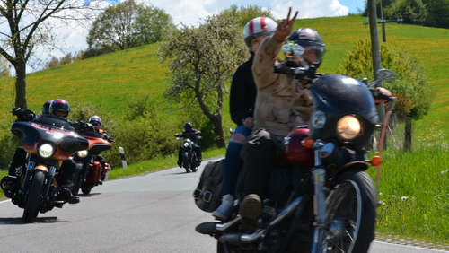 Charity Run mit den Hells Angels