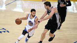 Golden State Warriors fegen San Antonio Spurs vom Platz