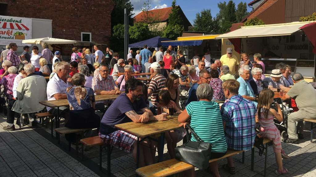 Feierabendmarkt in Friedewald