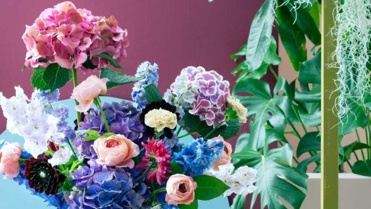 so halten sich hortensien besser in der vase wohnen. Black Bedroom Furniture Sets. Home Design Ideas