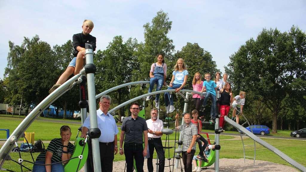 Klettergerüst Schule : Klettergerüst soll künftig an schule stehen ostfriesen zeitung