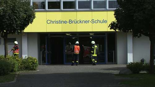 Reizgas-Alarm in der Christine-Brückner-Schule in Bad Emstal