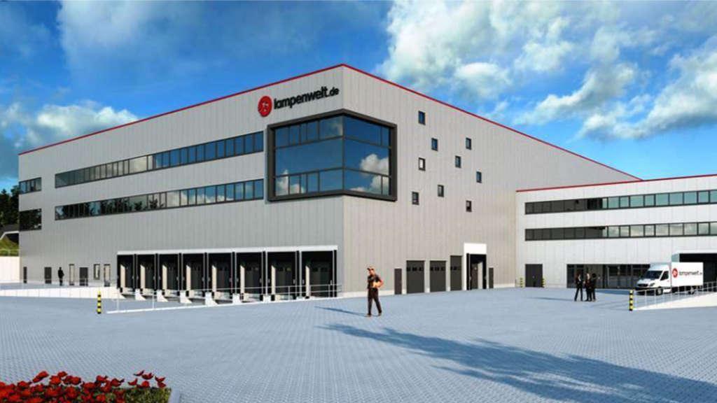 Neues Logistik Und Servicezentrum Der Lampenwelt In Schlitz Fulda