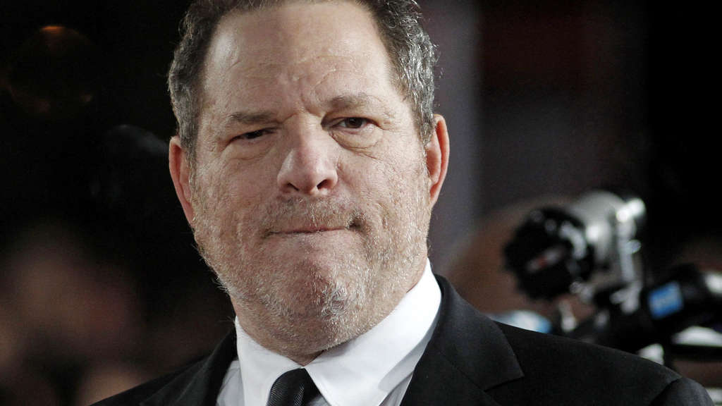 Filmproduzent Harvey Weinstein