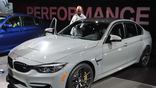 BMW M3 feiert in Los Angeles Premiere als CS-Modell