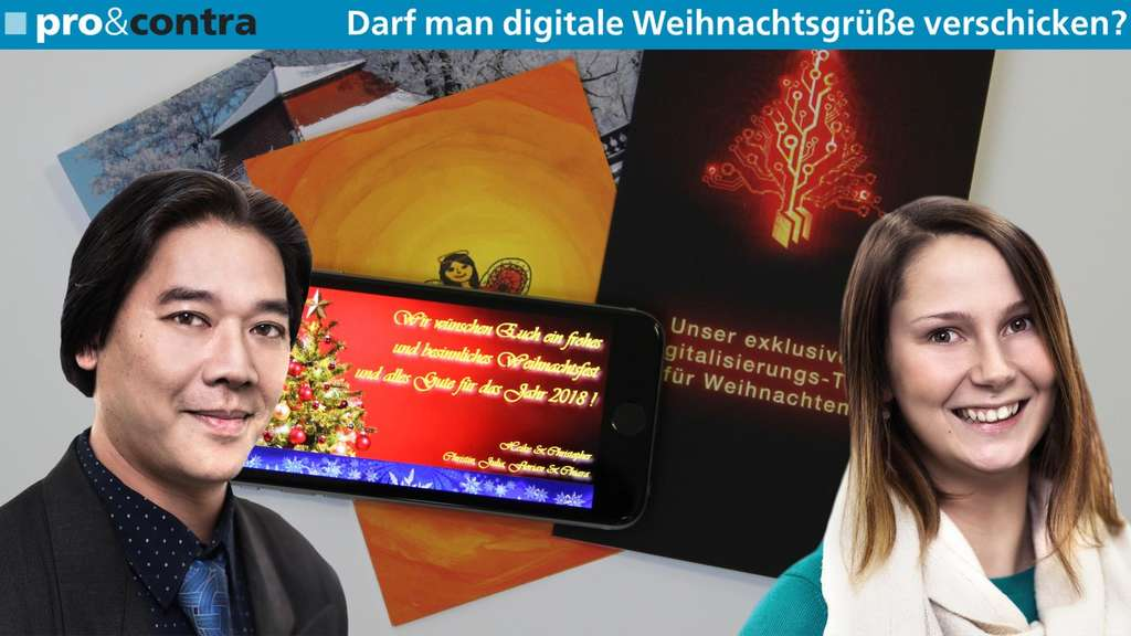 Weihnachtsgrüße Per Handy Verschicken.Pro Contra Darf Man Digitale Weihnachtsgrüße Verschicken Fulda
