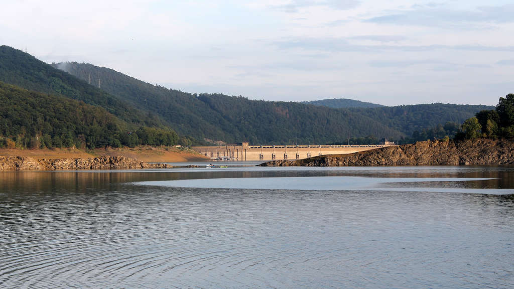 Edersee Wasserstand Bilder Aktuell