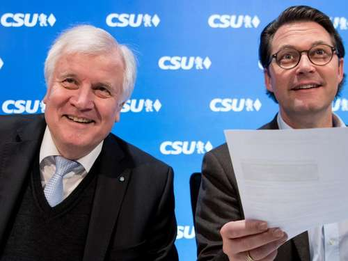 CSU-Vorstand billigt einstimmig Koalitionsvertrag