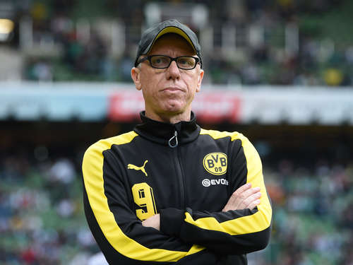 BVB-Coach Stöger will Champions League klarmachen