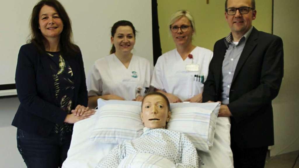 Gesundheits Krankenpfleger Ausbildung Auszubildende Azubis