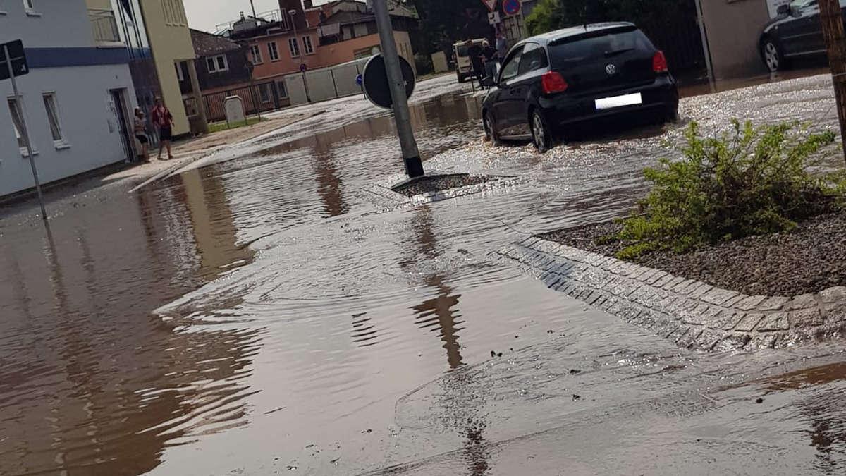 Unwetter In Korbach