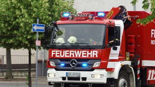 Brand in Rotenburger Bank
