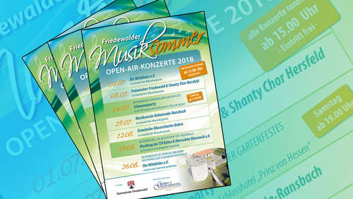 Musiksommer in Friedewald beginnt am 1. Juli