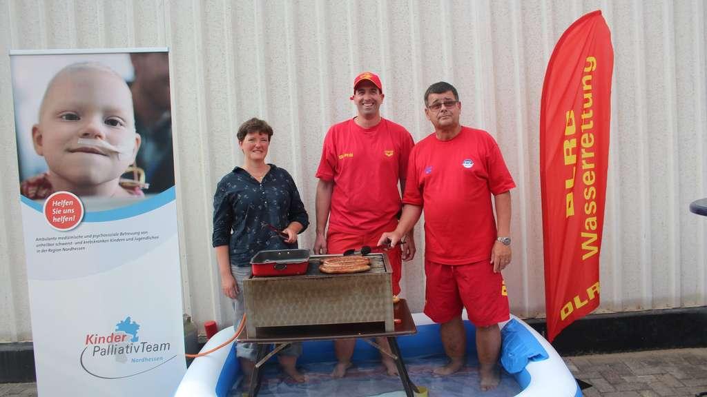 Cool Water Grill Challenge Dlrg Grillte Für Den Guten Zweck Markt