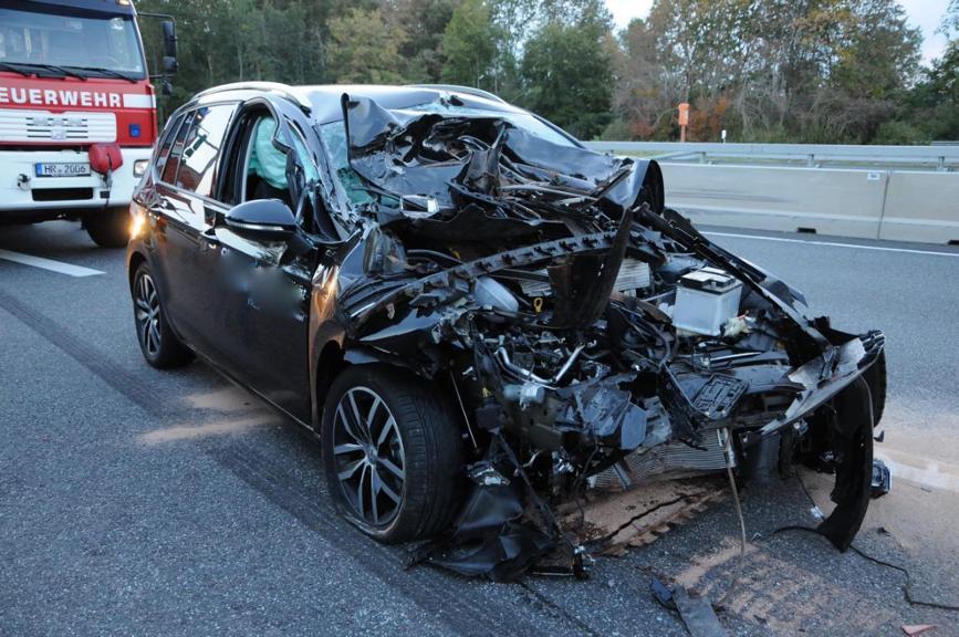 Unfall A49 Gestern