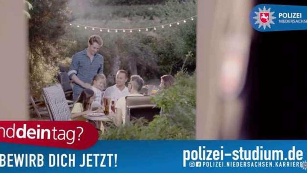 Polizei Kino Werbefilm Spot Beamte Zivil Job Bewerbung Hann