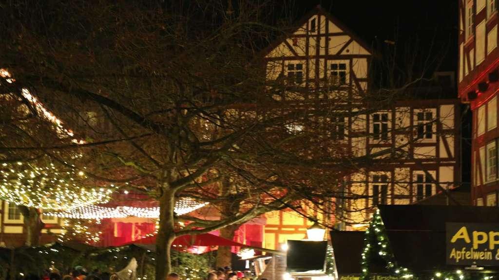Weihnachtsmarkt Melsungen.Freie Städtische Hütten Auf Dem Melsunger Weihnachtsmarkt Heimat